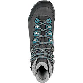 Lowa Mauria GTX Zapatillas de Trekking Mujer, anthracite/petrol